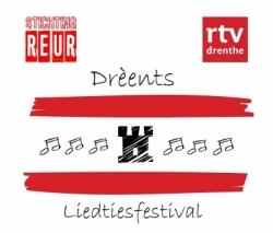 LOGO DLF - Drèents Liedtiesfestival