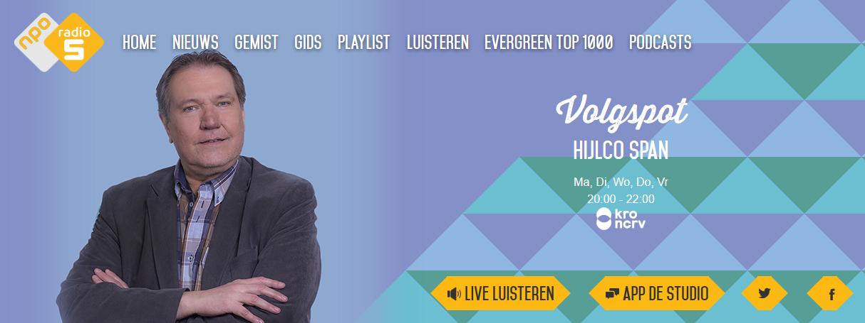 Volgspot - Radio 5