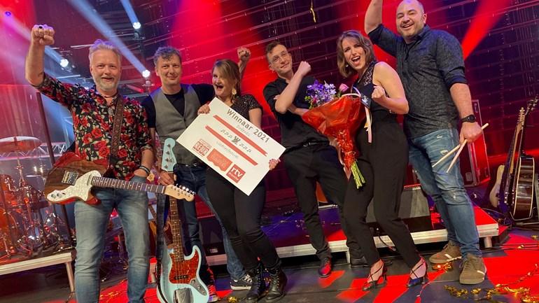 Jolien Wonink-Dijkstra wint Drèents Liedtiesfestival 2021 - foto: Bart de Nes